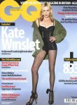 Kate Winslet on the cover of GQ (2013) Magazine raising the moral issues of photoshopping/extending the length of her legs and making her appear slimmer