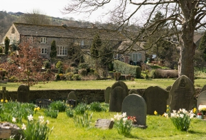 view from the church, addingham
